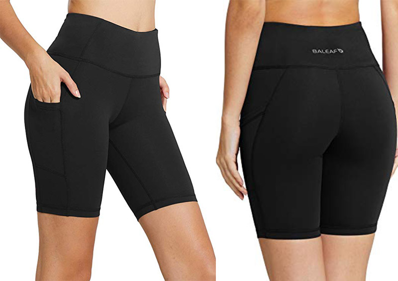 Baleaf with High Waist Women's 8