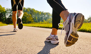 Tips for running with flat feet