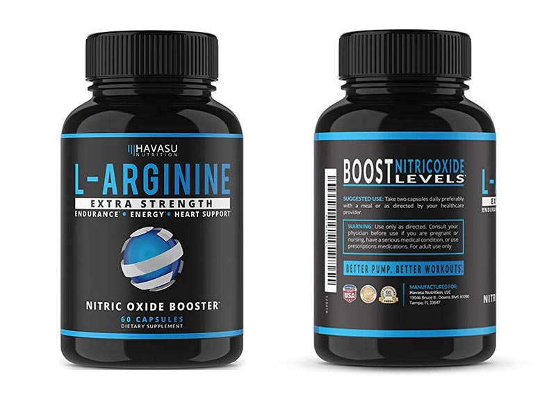 Havasu Nutrition L Arginine NO2 Supplement
