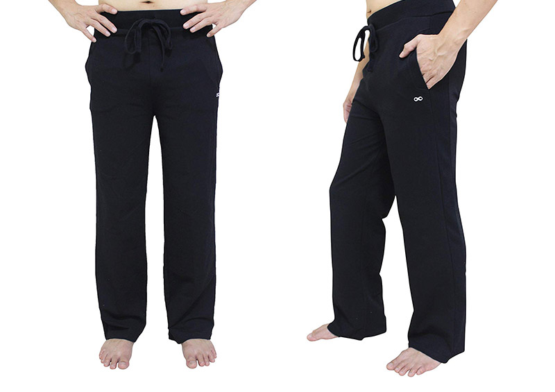 YogaAddict Men's Yoga Long Pants