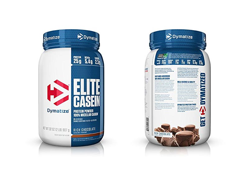 Dymatize Elite Slow-Absorbing Micellar Casein Powder