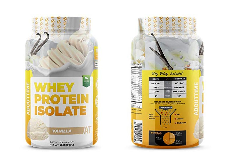 About Time Whey Isolate Vanilla