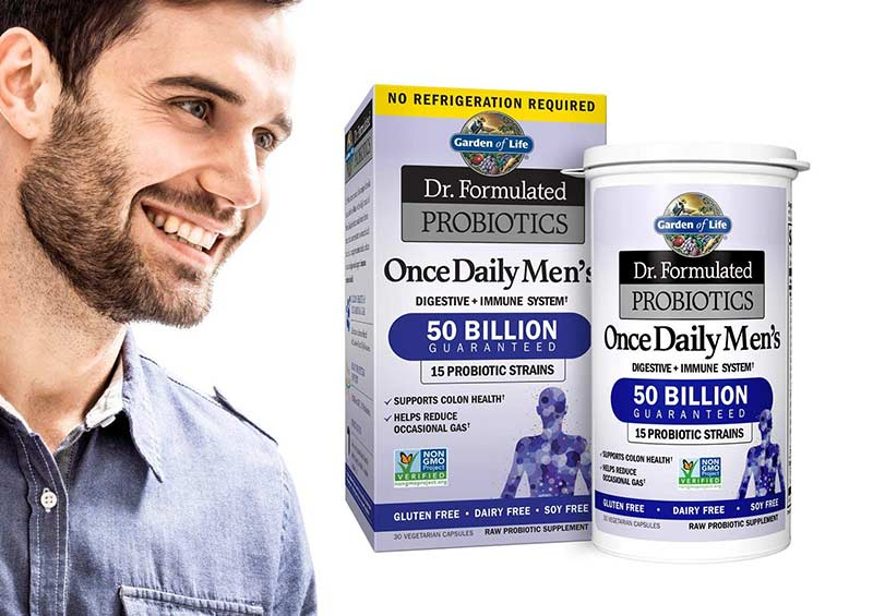 Garden of Life Dr. Formulated Once Daily Men's Shelf Stable Probiotics